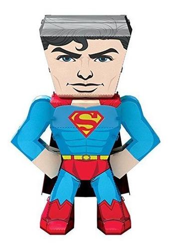 Fascinaciones Metal Earth Dc Justice League Superman 3d Mode