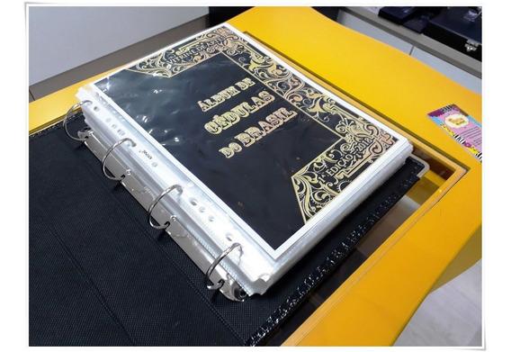 Livro Album Cédula Antigo Colecionar Dinheiro Por Tipo