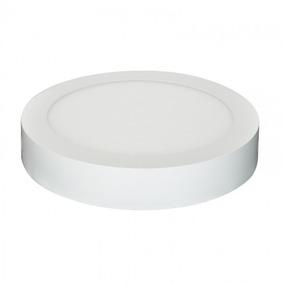 Plafon Sobrepor/embutir Led 12w 5700k Bivolt Kit 7 Peças