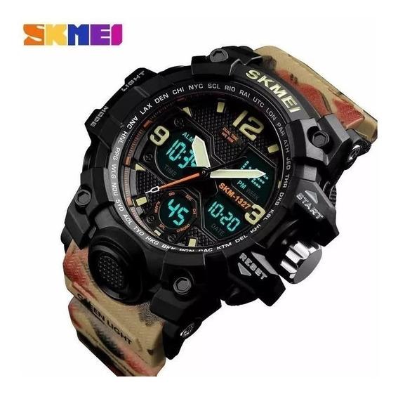 Relógio Militar Analógico Original Prova Dágua Luxo Promoção