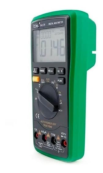 Multímetro Digital Baku Ba-28 Trms Capacitancia Temperatura
