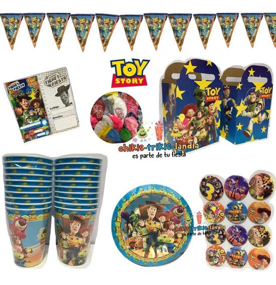 Toy Story Buzz Arts Fiesta Pkt 20 Niños Fiesta Jessie Woody