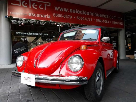 Vocho Volkswagen Beetle Convertible,1972