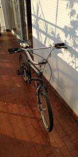 Bicicleta Niño Azul.