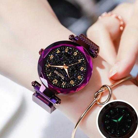 Relógio Feminino Super Luxo