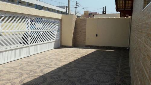Casa Com 2 Dormitórios À Venda, 55 M² Por R$ 220.000,00 - Maracanã - Praia Grande/sp - Ca0951