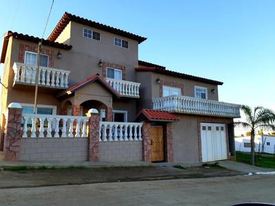 Se Vende Hermosa Casa En Rosarito B.c. Primotapia A 3km.ptn.