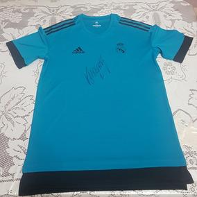 3911d5b4952 Jersey Del Real Madrid Firmada Por Keylor Navas