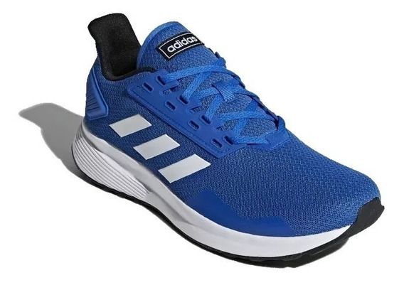 Tênis adidas Duramo 9 Azul Masculino Corrida Original!
