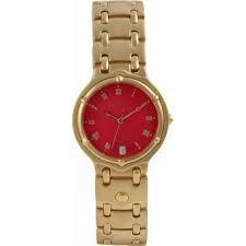 Relógio Krug Baumen-banhado A Ouro-unisex