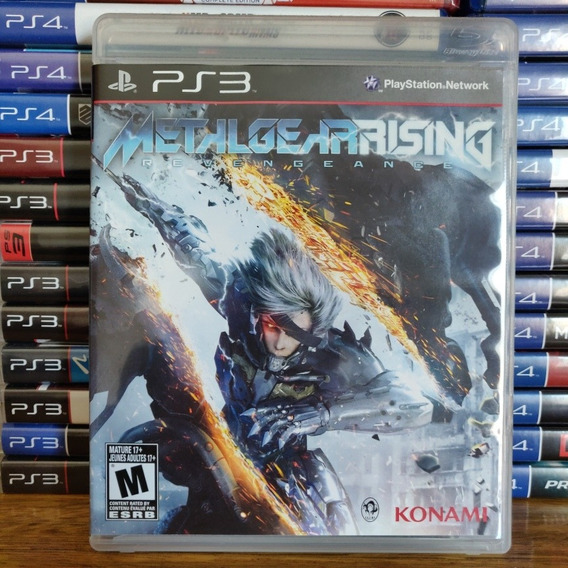 Metal Gear Rising Revengeance Ps3 Mídia Física Original
