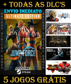 Off- Jump Force Ultimate Edition Pc Original Steam + Brinde