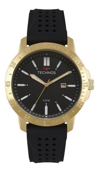 Relogio Masculino Technos Original Luxo Moderno 2115mqw/8p