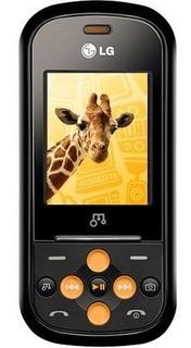 Celular Lg Gb280 Celular Lg Grafite/laranja Com Câmera 2mp, Mp3 Player, Rádio Fm