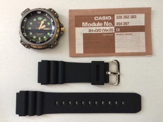 Relógio Casio Md-703 (*mod) - Diver - Antigo - Raríssimo