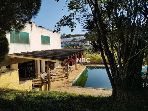 Imagem 1 de 30 de Chácara Com 5 Dormitórios Para Alugar, 1000 M² Por R$ 7.500,00/mês - Caputera - Arujá/sp - Ch0091