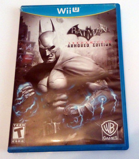 Batman Arkham City Armores Edition Wiiu Usado