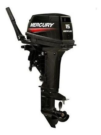 Motor De Popa Mercury 15hp Super 2 Tempos