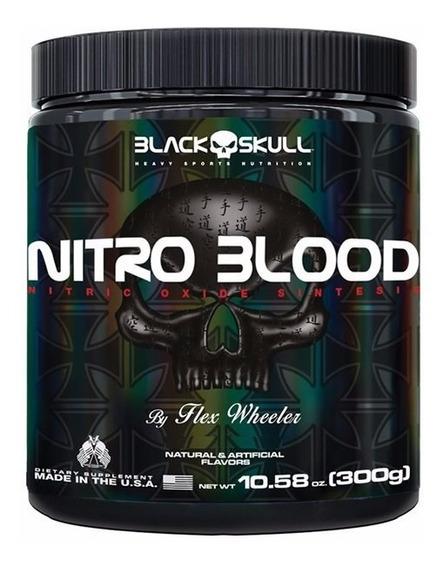 Vasodilatador Nitro Blood 300g - Black Skull