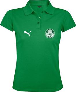 Camiseta Camisa Polo Feminina Torcedor Times Paulistas