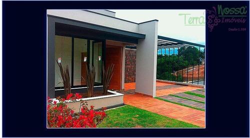 Imagem 1 de 12 de Casa Residencial À Venda, Condomínio Picollo Villaggio, Louveira. - Ca0773