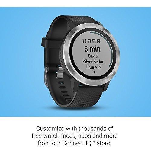Vivoactive 3 Reloj Inteligente Gps Estandar 1.2 Negro