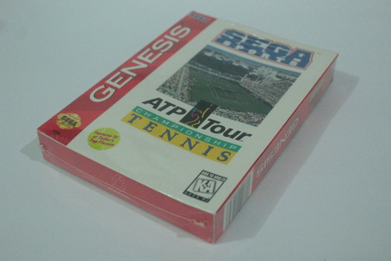 Tennis Atp Tour Sega Mega Drive Original Americano Lacrado