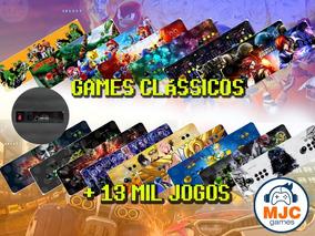 Fliperama Portátil Arcade Mais De 13 Mil Jogos Zero Delay