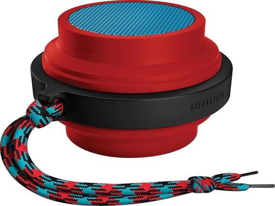 Caixa De Som Bluetooth Wireless Portátil Bt2000r/00 Vermelha