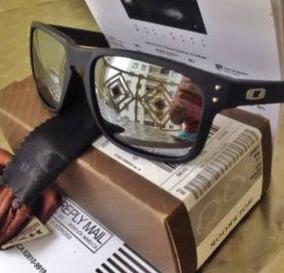 b8538c7e0 Oculos Oakley Holbrook Prata Espelhado De Sol - Óculos no Mercado ...
