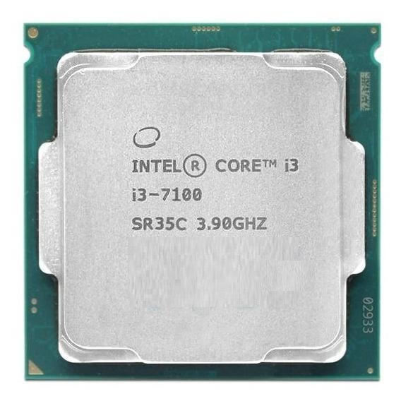 Processador Intel® Core I3-7100 3,90 Ghz Oem 7 Geração + Nfe