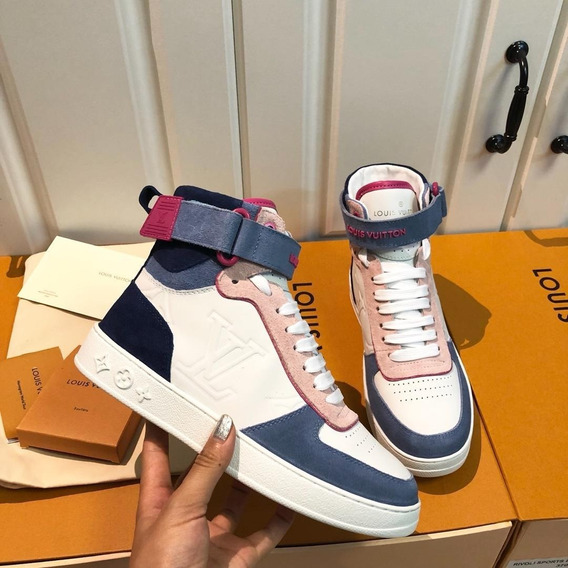 Tênis Louis Vuitton Boombox Sneaker Boot 03 Frete Grátis