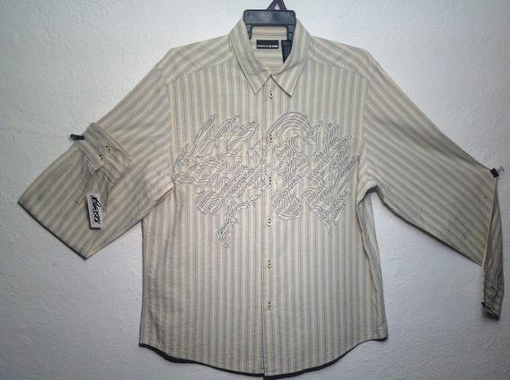 Camisa L/g Dkny / Jeans Caballero Envio Gratis