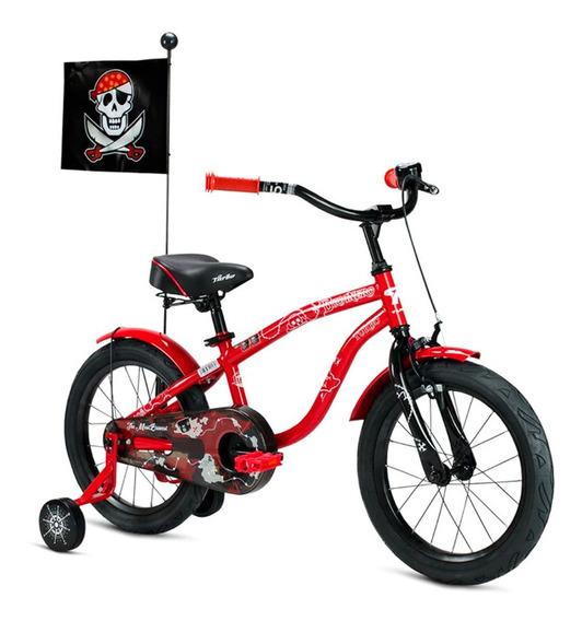 Bicicleta Turbo Para Niño R16 Ruedas Frenos La Mas Segura
