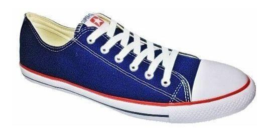 Tenis Super Star Basket Lona 46 Ao 50 Azul De R$139,90 Por: