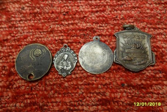 Lote Antiguas Medallas Mundial 78, Jesús, Esc. Freyre