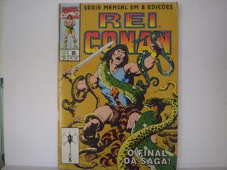 Hq - Marvel Comics - Rei Conan Nº 8 Ano 1995 Em 8 Edições