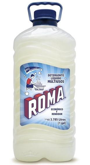 1 Galón De Detergente Roma Líquido Biodegradable