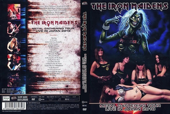 Dvd The Iron Maidens Metal Gathering Tour Live In Japan 2010