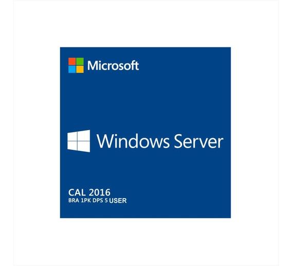 5 Cal Acesso Remoto Rds/ts P/windows Server 2016 User/devic
