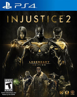 Injustice 2 Legendary Edition Ps4 Digital Gcp