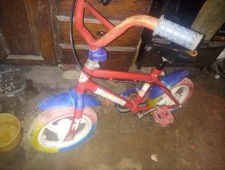 Bici Para Chicos Rodado 12