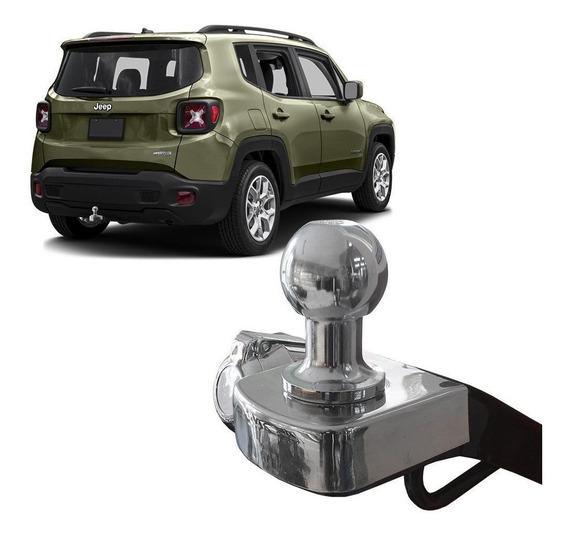 Engate Reboque Jeep Renegade 2016 A 2019 Fixo Tração 700 Kg