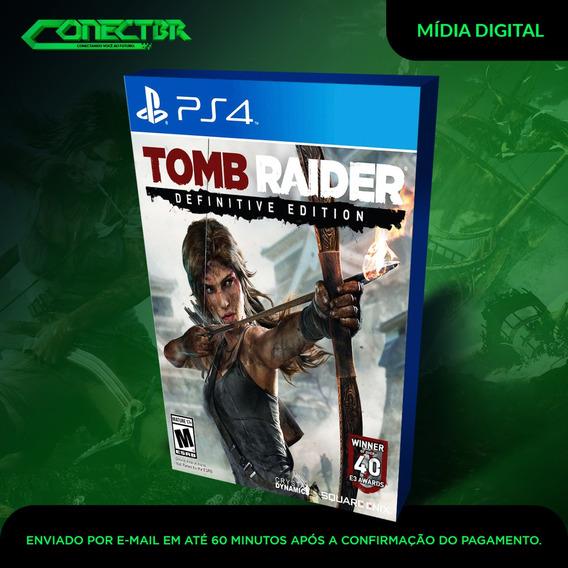 Tomb Raider Definitive Edition Ps4 Digital Game Envio Já!