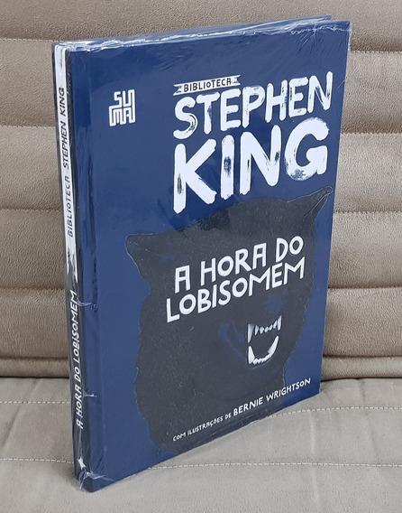 Livro Hora Do Lobisomen Biblioteca Stephen King / Capa Dura