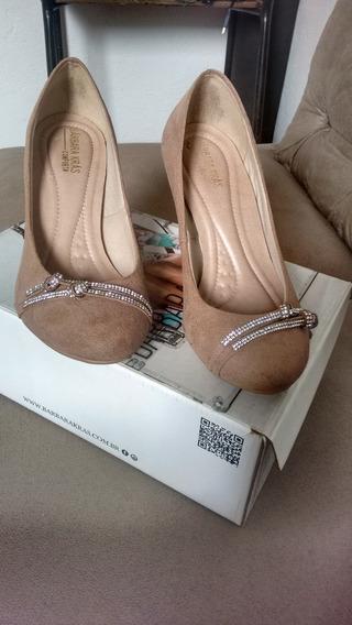Lindo Sapato Camurça Bárbara Kras
