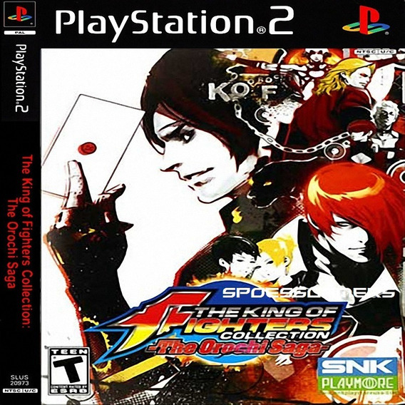 The King Of Fighters Collection, The Orochi Saga Ps2 Patch