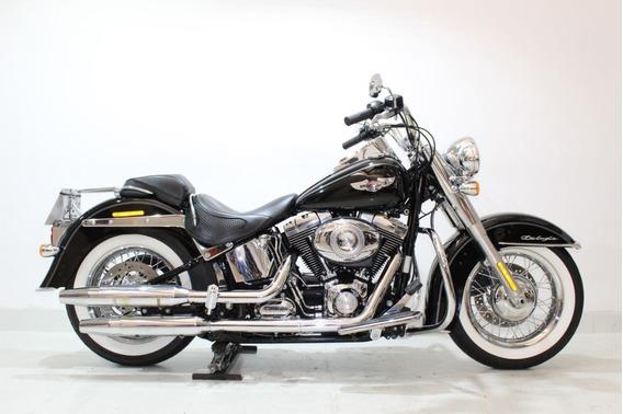 Harley Davidson Softail Deluxe 2014 Preta