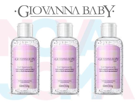 Álcool Em Gel 70% Giovanna Baby C/03 Un Classic 60ml
