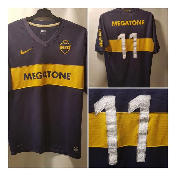 Camiseta Boca Junior Nike Megatone Con Numero + Medias